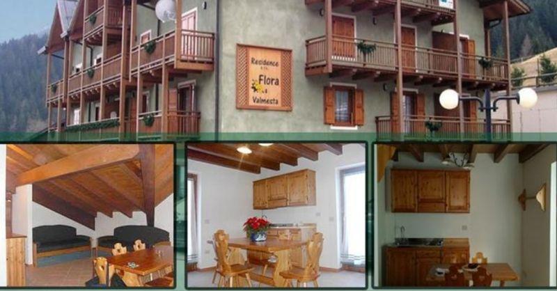 Residence Flora offerta pernottamento residence - occasione appartamenti Dolomiti