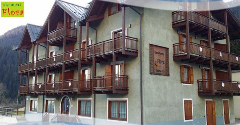 Residence Flora offerta soggiorno in montagna - occasione villeggiatura estate e inverno