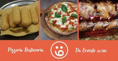 pizzeria rosticceria da ernesto offerta pollo girarrosto benevento occasione pollo alla brace