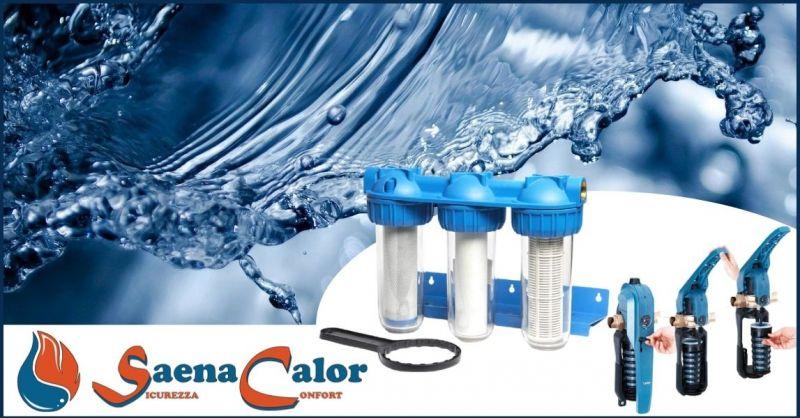 occasione trattamento acque e trattamenti acqua impianti termici - SAENA CALOR