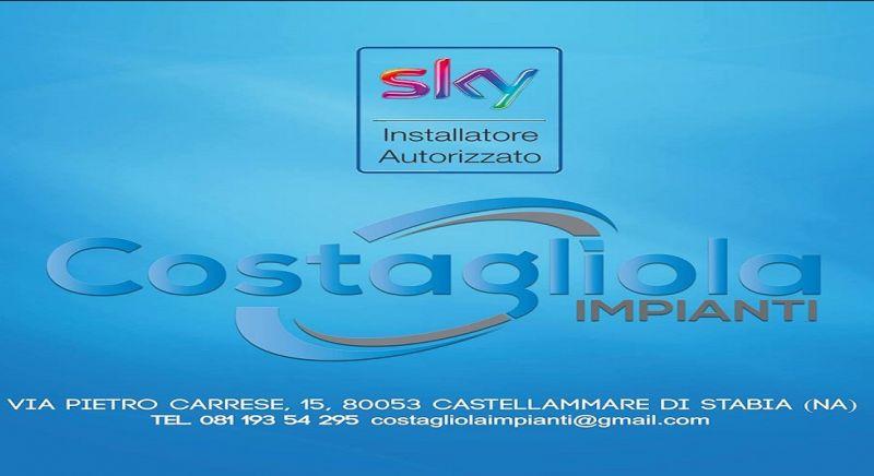 Costagliola Impianti offerta sky center - occasione centro sky Napoli