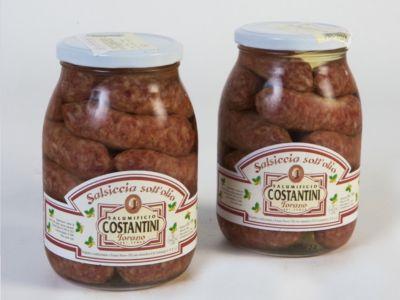 offerta salsiccia stagionata sottolio occasione produzione salumi tradizionali abruzzesi