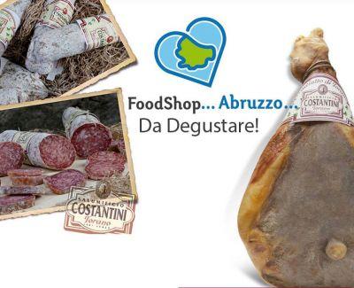 offerta vendita salumi stagionati abruzzesi occasione produzione prodotti tipici abruzzo