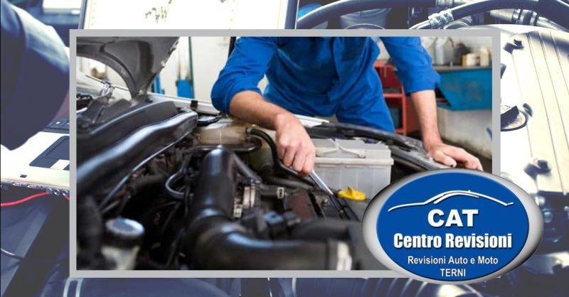CENTRO REVISIONI CAT offerta servizio check up completo veicoli Terni