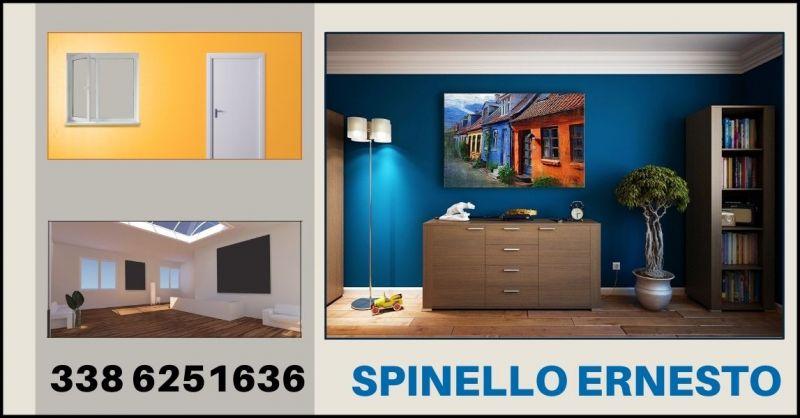 occasione tinteggiatura e verniciatura casa - offerta imbiancature Spinello Ernesto