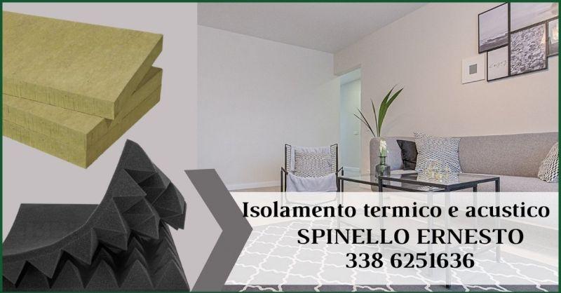 occasione isolamento termico e acustico a Siena - SPINELLO ERNESTO