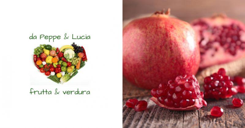 Peppe e Lucia Frutta e Verdura offerta melograni siciliani benvento -occasione succo melograno