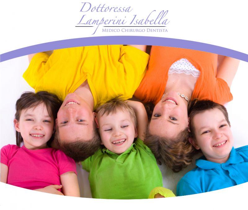 offerta dentista bambini promozione anestesia senza ago isabella lamperini