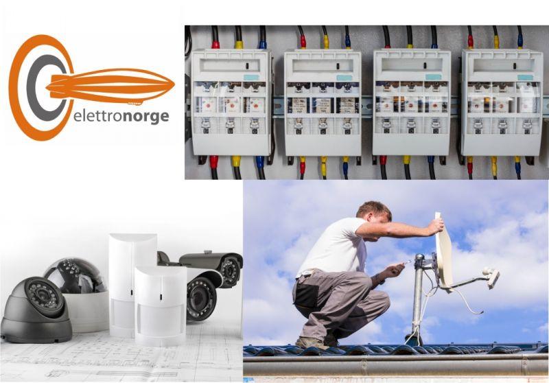 Impianti elettrici - Automazione porte e cancelli