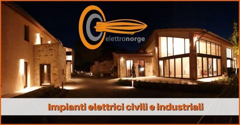 offerta realizzazione e manutenzione impianti elettrici Siena - ELETTRONORGE