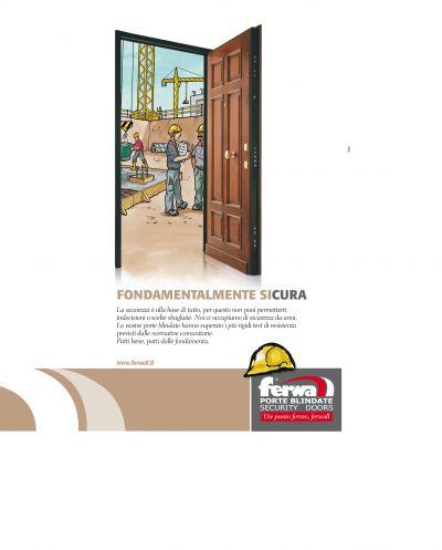 porta blindata ferwall classe 3 serratura europea