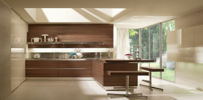 cucine salvarani mod high teak giannotti