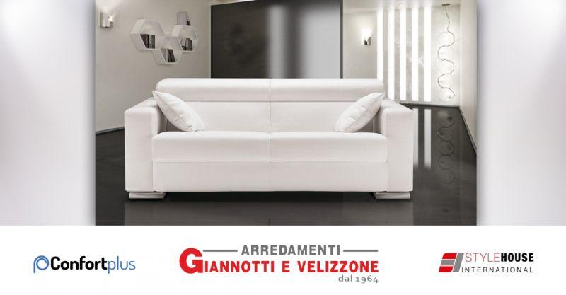 offerta divano letto confort plus style house bordighera - divani italiani confort plus