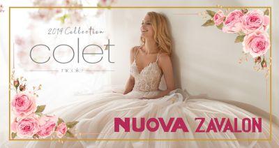 nuova zavalon nuoro offerta nuova collezione abiti da sposa e cerimonia nicole