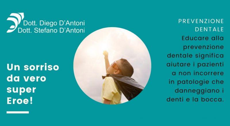 Occasione prevenzione e cura dei denti in età infantile a Trento - Offerta igiene orale Studio Dentistico a Trento
