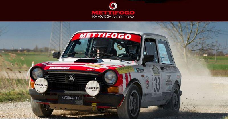 Mettifogo Service Offerta autofficina specializzata Fiat - Preparazione auto rally storici