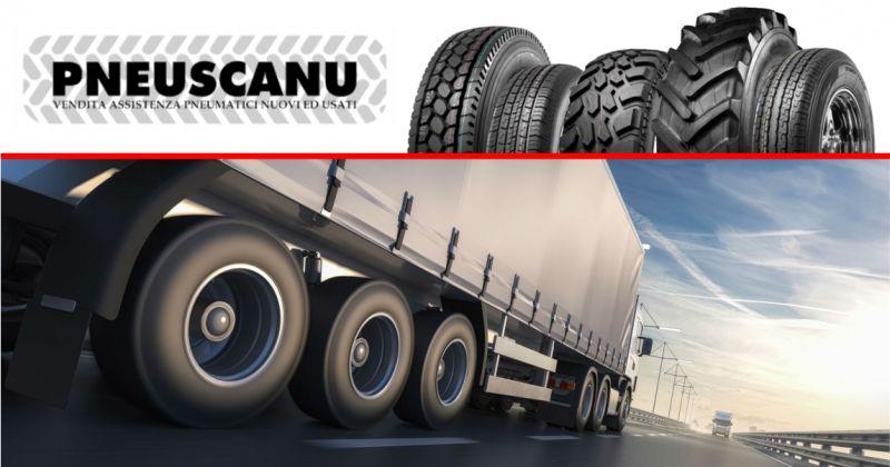 PNEUSCANU  - offerta pneumatici nuovi e usati per mezzi pesanti e veicoli industriali