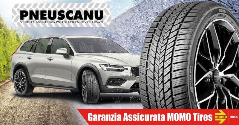 PNEUSCANU promozione vendita assistenza pneumatici nuovi e usati  - offerta garanzia assicurata Momo Tires