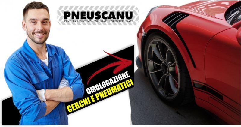 PNEUSCANU - offerta omologazione cerchi in lega e pneumatici maggiorati