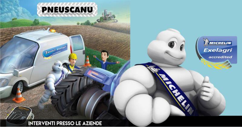 PNEUSCANU Michelin Exelagri accredited - offerta gommista officina mobile per riparazioni veloci sul post