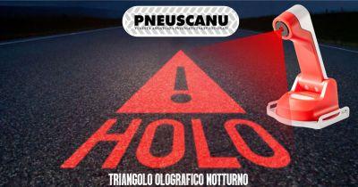 pneuscanu offerta holo triangolo olografico notturno
