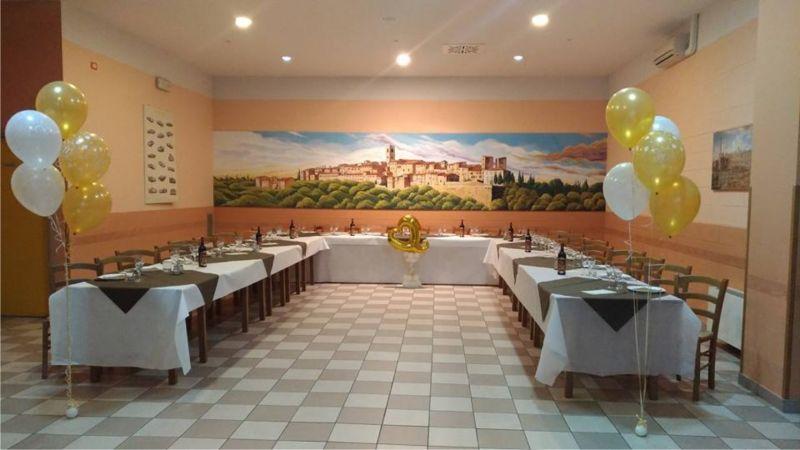 Offerta locale per feste - Siena - Poggibonsi - Boccon Bacco