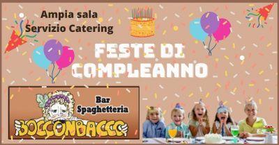 ristorante boccon bacco offerta locale per feste bambini a colle di val delsa