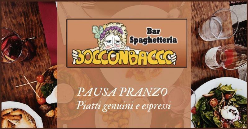 occasione ristorante per pausa pranzo a Colle di Val D'Elsa - BOCCON BACCO