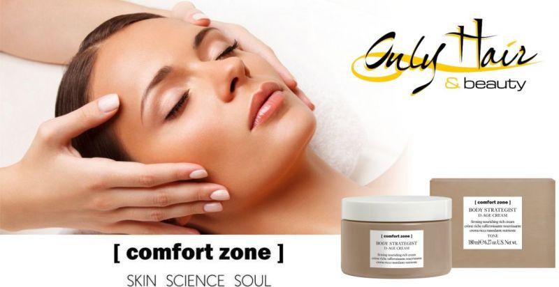 Centro estetico Only Hair & Beauty Arzachena - offerta prodotti professionali Comfort Zone