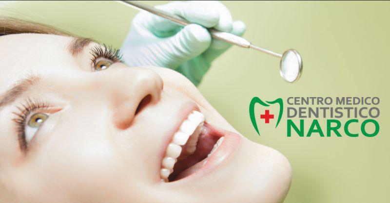 centro medico narco offerta servizio guardia odontoiatrica - occasione ortodonzia imperia
