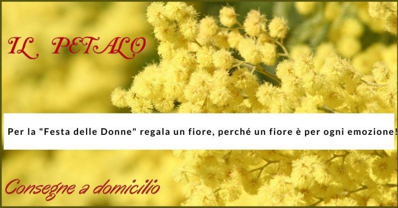 offerta fiori e consegna a domicilio fiori per la festa della donna Siena - IL PETALO