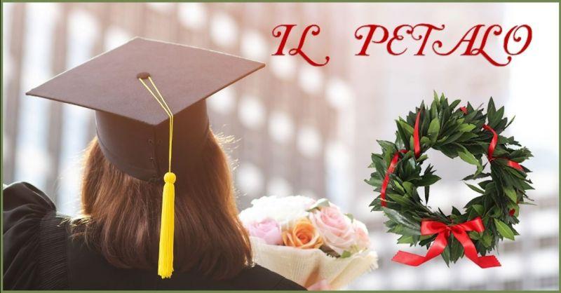 occasione vendita coroncine di alloro per lauree Siena - offerta negozio fiori e piante Siena