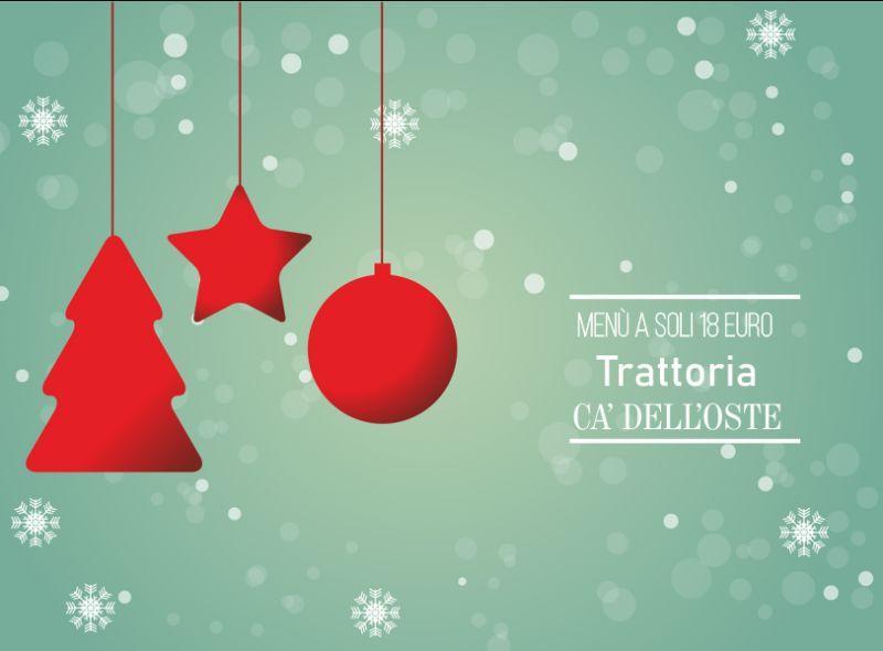 TRATTORIA CA DELL'OSTE offerta cena aziendale dicembre – promozione cena natale gruppi