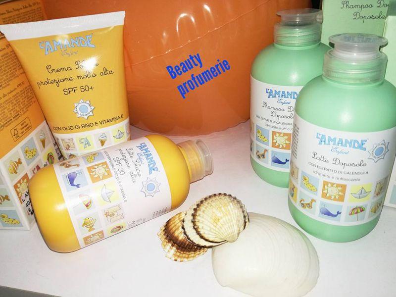 da beauty profumerie lamande enfant solari e doposole specifici per i piu piccoli