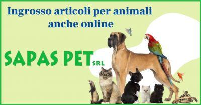 sapas pet promozione vendita on line articoli per animali domestici