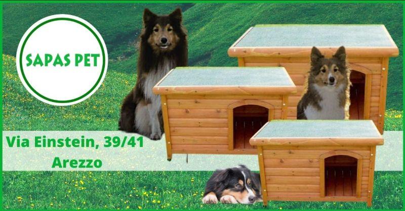 occasione cucce da esterno per cani Arezzo - offerta cucce in legno per cani Arezzo