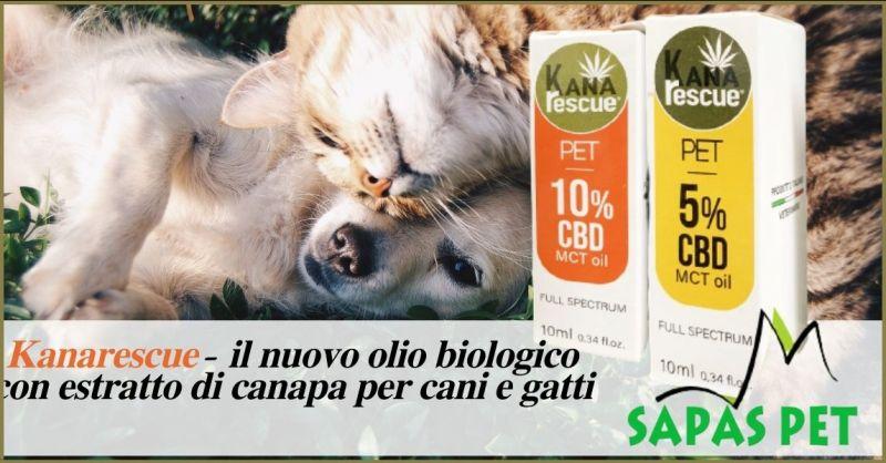 offerta prodotti per la salute di cani e gatto - occasione olio Kanarescue cani e gatti