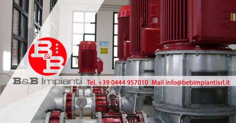 Offerta Impianti e quadri Elettrici per Sollevamento e Trattamento Acque a turbine