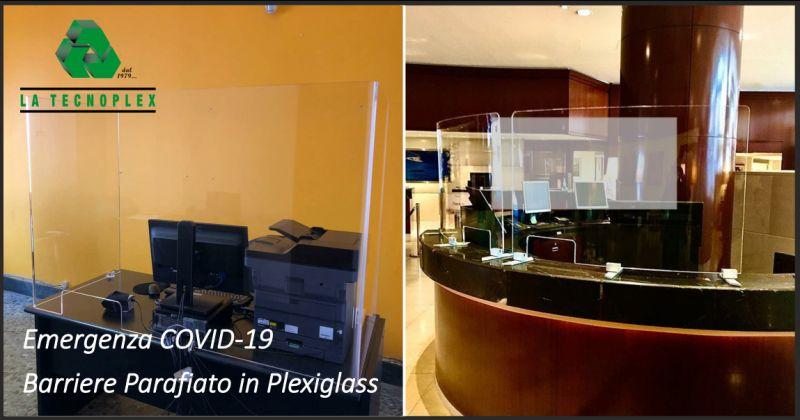 la tecnoplex offerta barriere parafiato - occasione barriere in plexiglass imperia