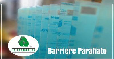 la tecnolplex offerta barriere parafiato occasione barriere parafiato covid imperia