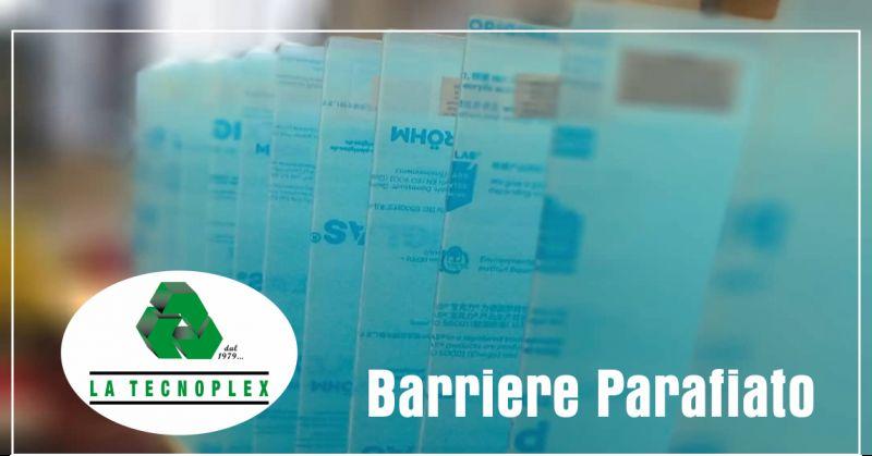 la tecnolplex offerta barriere parafiato - occasione barriere parafiato covid imperia