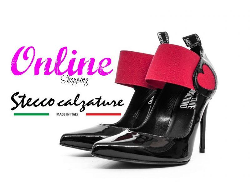 offerta decollete moschino occasione scarpe donna moschino vendita on line stecco calzature