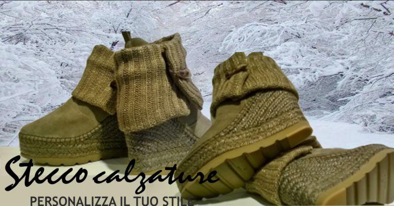 offerta STIVALI DONNA con ZEPPE VIDORRETA - occasione stivaletto in pelle color beige Vicenza