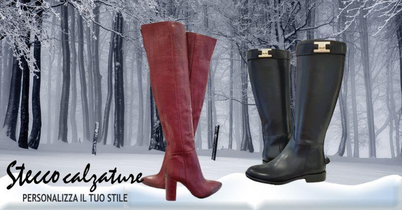 Stecco Calzature - Occasione vendita anfibi donna vera pelle colore nero a Vicenza