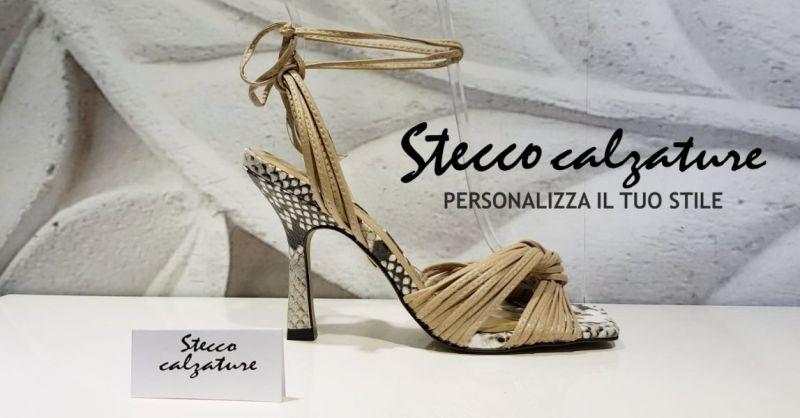 Stecco Calzature - Offerta vendita online sandalo donna CARRANO vera pelle tacco medio fine