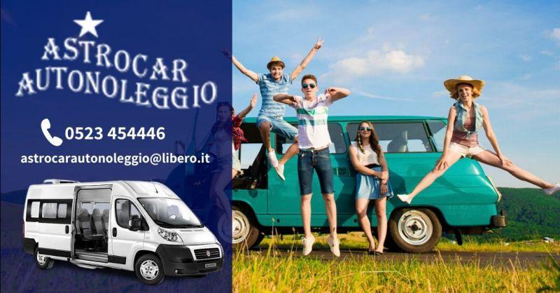 Offerte noleggio pulmini 9 posti Piacenza - Promozione miglior prezzo noleggio pulmino 9 posti