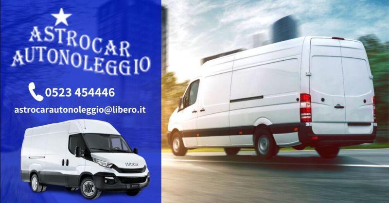 Occasione noleggio furgoni a breve termine - Offerta servizio noleggio autocarri al miglior prezzo