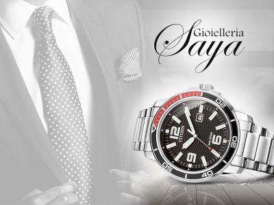 offerta orologeria promozione vendita riparazione orologi gioielleria saya