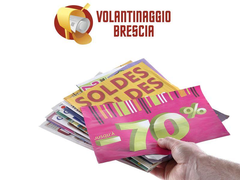 Offerta su distribuzione certifica di volantini e Volantinaggio a Brescia e provincia