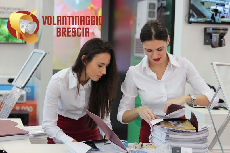 VOLANTINAGGIO BRESCIA offerta pubblicità cartacea - promo distribuzione certificata volantini